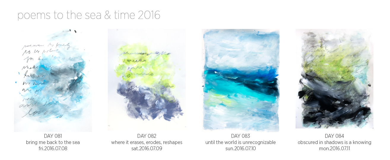 Poems to the Sea & Time (2016)