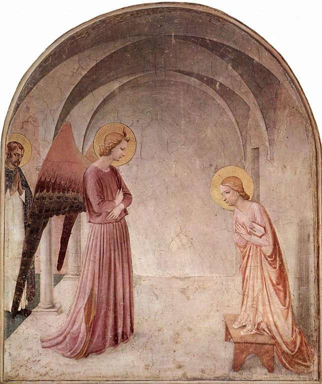 The Annunciation (c. 1440), Fra Angelico, Museo di San Marco, Florence