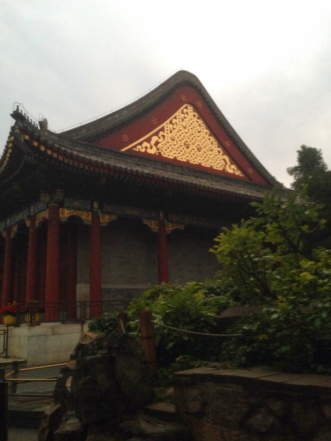 1st view of a building in the Summer Palace
