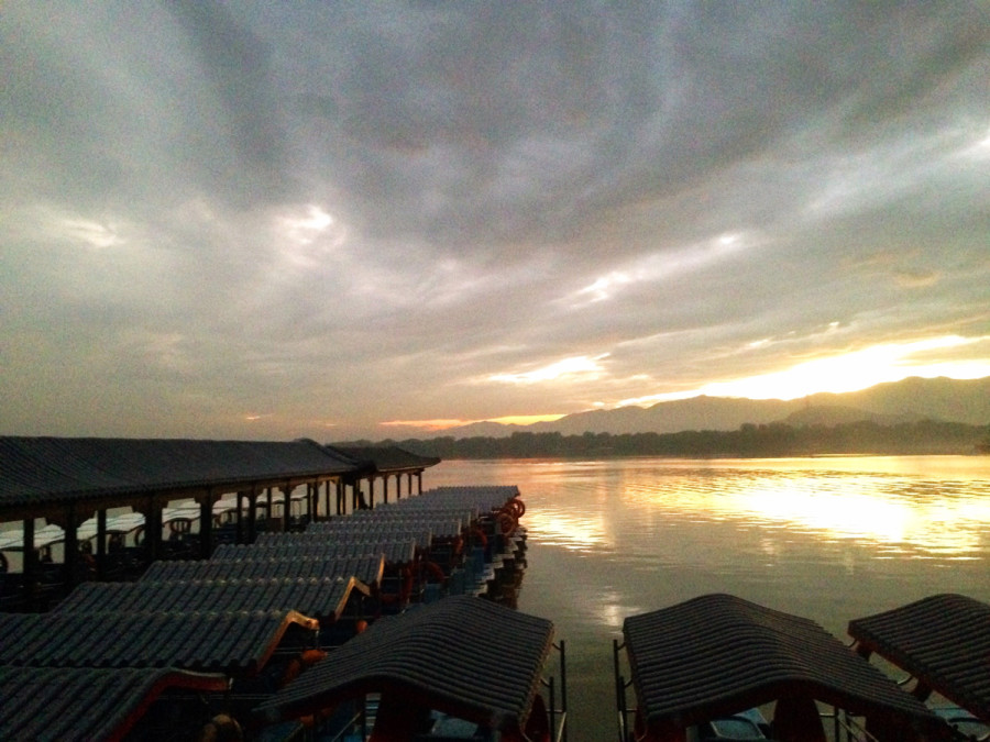 Sunset on Kunming Lake