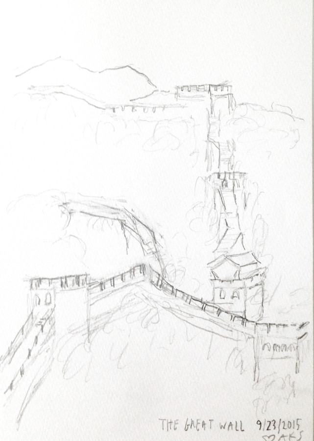 Sketch - The Great Wall