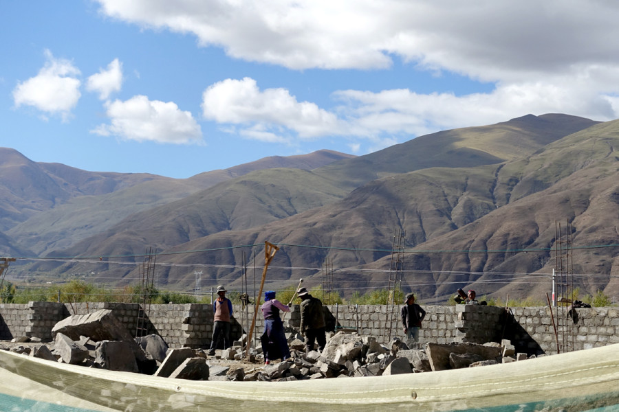 Tibet Countryside - Stonebreakers