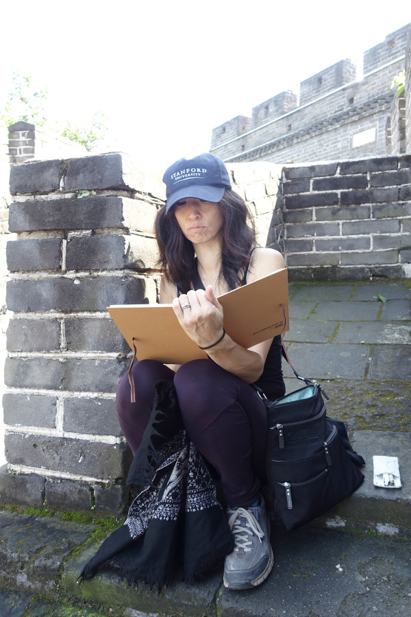 Sketching on The Great Wall