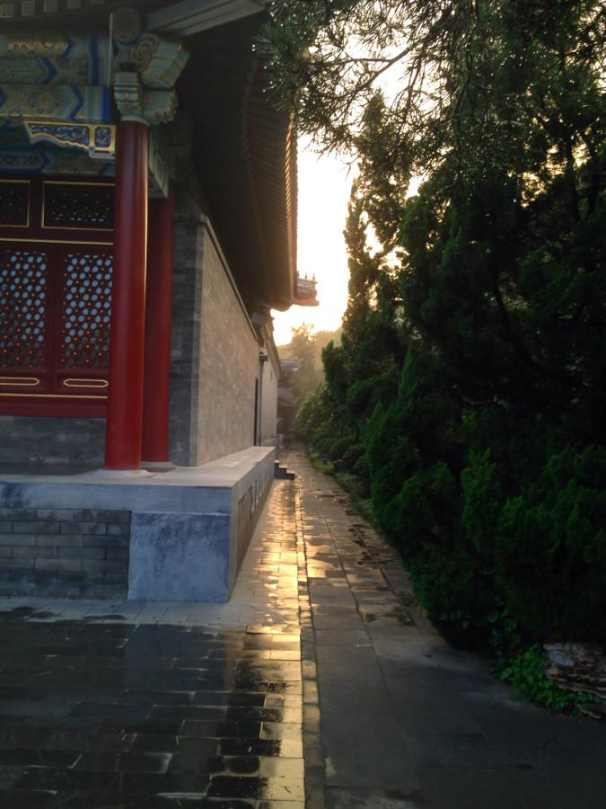Passageway towards the Summer Palace